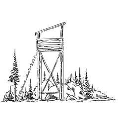 bryony hunting vector image