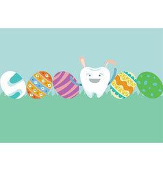 Ester of dental vector image