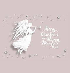 holiday christmas design vector image