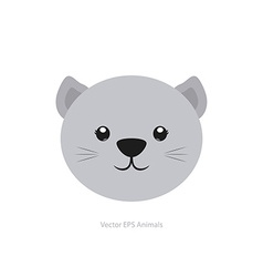 Isolated animal vector image