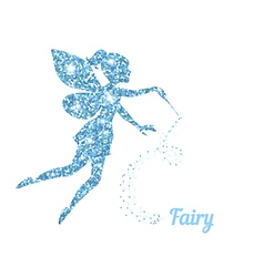 Magical fairy vector