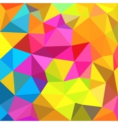 Polygonal triangles background vector image