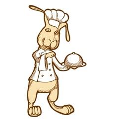 Rabbit-Chef vector