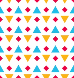Seamless Geometric Texture with Rhombus and vector image