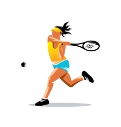 Tennis sign vector
