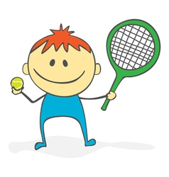 tennis vector image