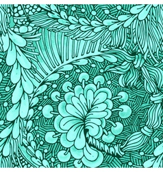 Zentangle pattern vector image