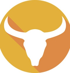 Bull Icon vector image vector image