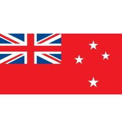 New Zealand Red Ensign vector image