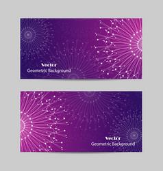 set of horizontal banners vector image vector image