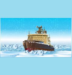 Icebreaker vector