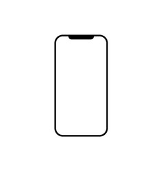 modern smartphone icon flat vector image