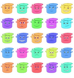 Pans smilies vector