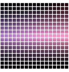 Purple blue pink rounded mosaic background over vector