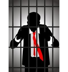 White Colar Criminal vector image