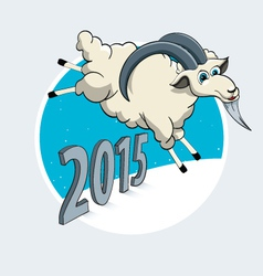 Year of the Goat vector image vector image
