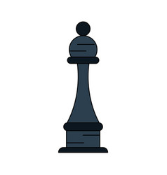 chess piece isolated vector image vector image