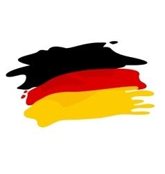 Flag germany vector