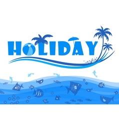 holiday vector image