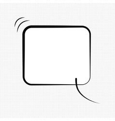 New cdmic speech bubble vector