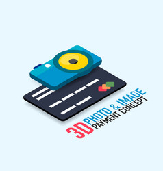 Payment for the image concept vector