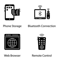 Wireless devices solid pack vector