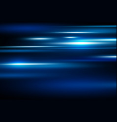 abstract blue speed motion background vector image