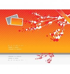 Asian style Sakkara print vector image