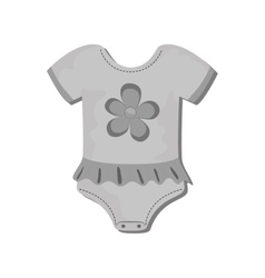 Baby suit clothes vector
