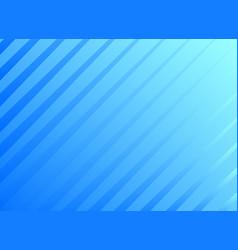 blue diagonal lines background design vector image