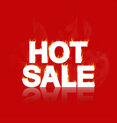 hot sale banner vector image
