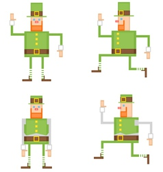 Irish leprechaun vector