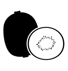 Kiwi fruit image vector