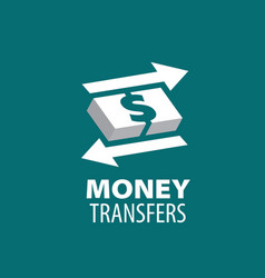 logo remittances vector image
