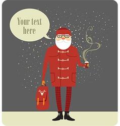 Mr Santa vector image