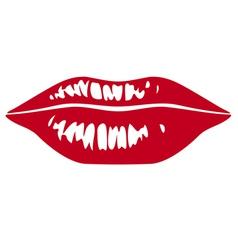 Sensuality lips vector