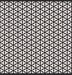 Smooth geometric figures on black background vector