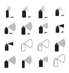 spray aerosol icon isolated vector image