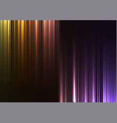 rainbow upside down abstract bar line background vector image