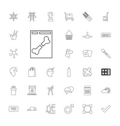 33 shadow icons vector