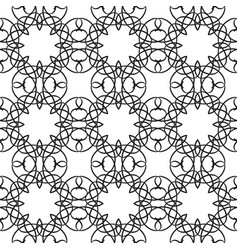 Abstract ornate minimalistic seamless pattern vector