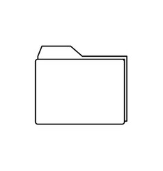 archive folder icon vector image