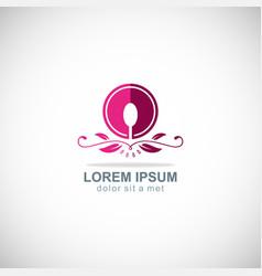 food luxury icon logo vector image
