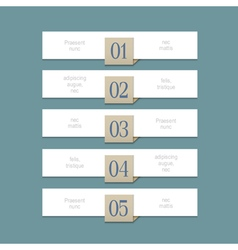 Modern white design template for graphic or vector image