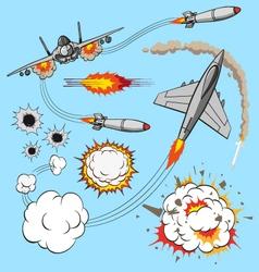 Plane set vector