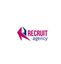 recruit agency icon vector image