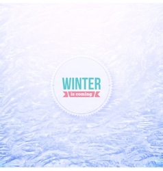 Snowy Background vector