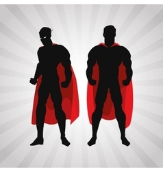 Superhero design superman icon costume vector