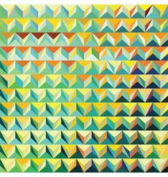V 000182 Modern triangular pattern vector