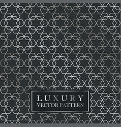 luxury seamless ornate pattern - grid gradient vector image